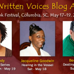 Written Voices Blog Authors at SC Book Festival, May 18 and 19