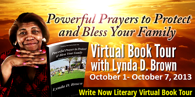 INTERVIEW | Lynda Brown, author of Powerful Prayer to Protect & Bless Your Family