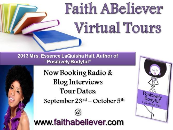INTERVIEW | LaQuisha Hall, author of Positively Bodyful @laquisha_hall @FaithAbeliever
