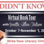 INTERVIEW | Yvette Allen-Tatum, author of I Didn't Know