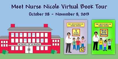 INTERVIEW | Nicole M Brown, author of The Adventures of Nurse Nicole: N is for Nurse