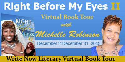 INTERVIEW | Michelle Robinson, author of Right Before My Eyes II