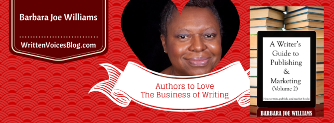 Barbara Joe Williams | The Business of Writing Series