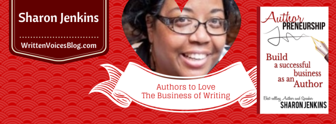Sharon Jenkins | The Business of Writing Series