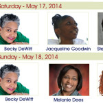 May 17-18, 2014 - SC Written Voices Authors at SC Book Festival