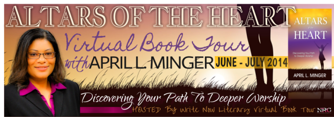 INTERVIEW | April L. Minger, Author of Altars of the Heart