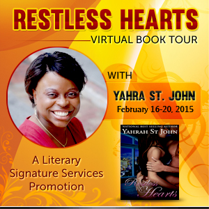 Restless Hearts Virtual Tour with Yahrah St. John @yahrahstjohn